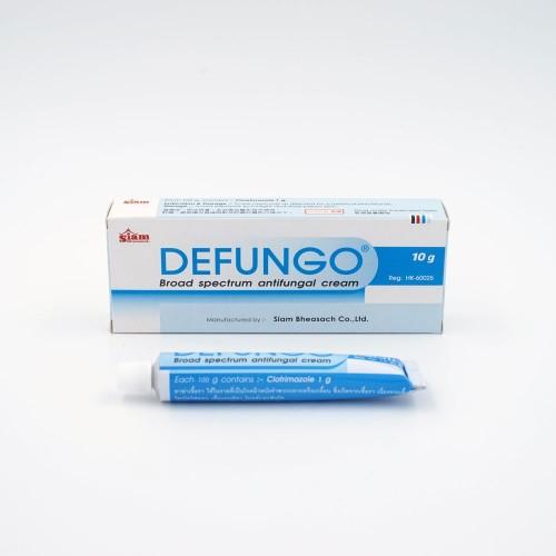 DEFUNGO VAGINAL CREAM 10g 1TUBE/BOX 外包裝成品