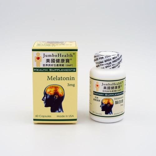 健康寶 腦白金 MELATONIN TAB 60's/btl