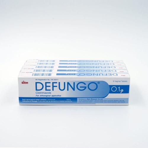 DEFUNGO VAGINAL TAB 100mg 6'S/BOX