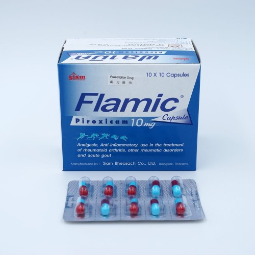 FLAMIC CAP 10mg 10x10's/BOX